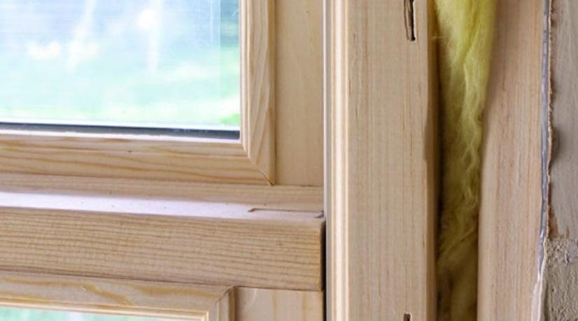 Утепление деревянного окна