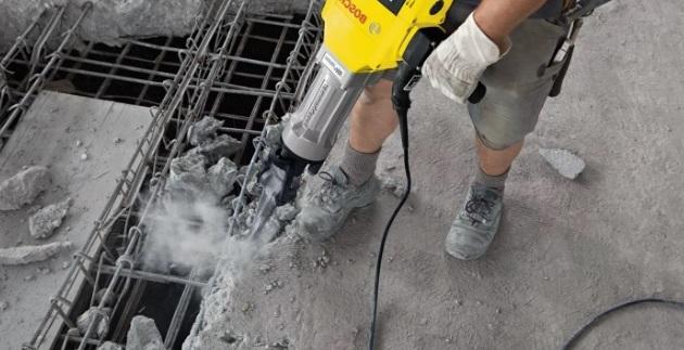 Демонтаж бетонных перекрытий