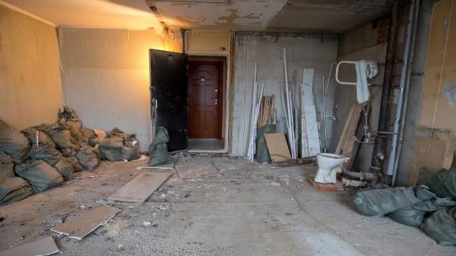 Демонтаж стен и перекрытий