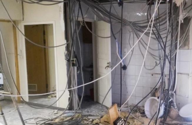 Демонтаж инженерных сетей