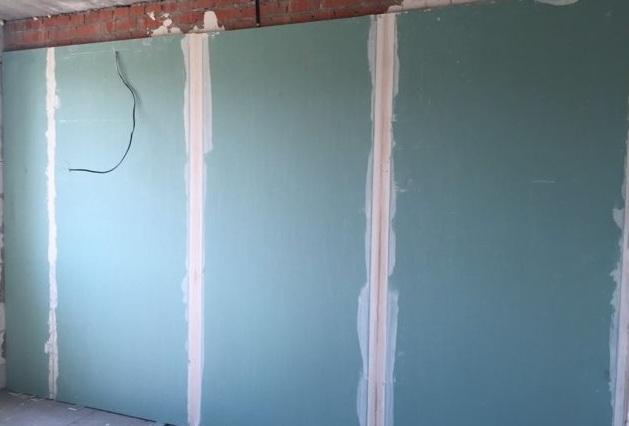 Выравнивание стен листовыми материалами